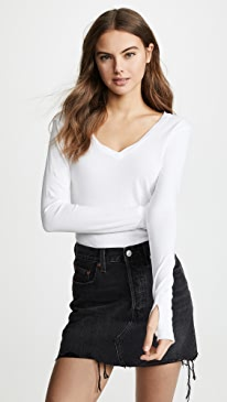 Essential Cotton Long Sleeve Tee