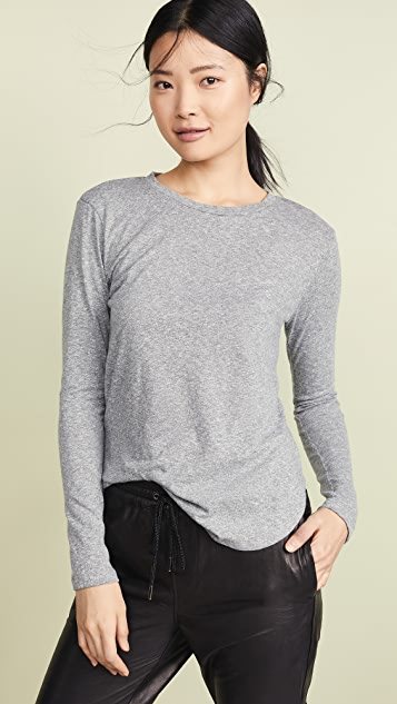 LNA Essential Tri Blend Long Sleeve Tee