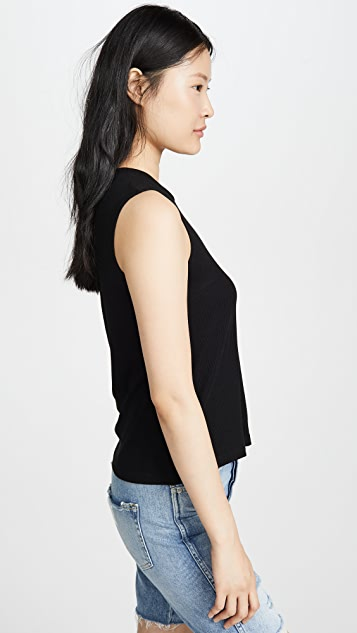 LNA Brantley Rib Top