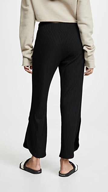 LNA Curved Rib Pants