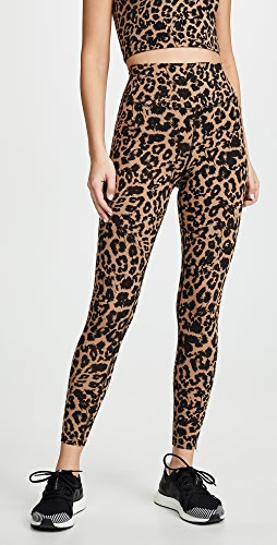 LNA - Leopard Zipper Leggings