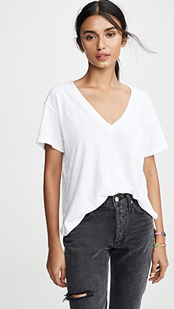 LNA 深 V 口袋 T 恤
