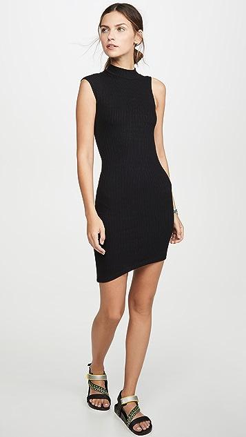 LNA Peak Rib Dress