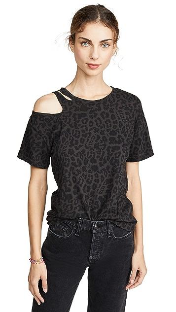 LNA 黑色豹纹 T 恤