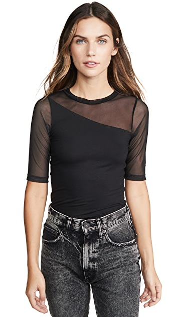 LNA Billie 网眼织物 T 恤