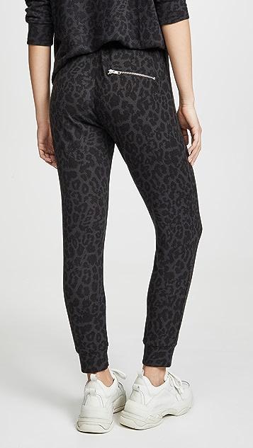 LNA Brushed Leopard Sweatpants