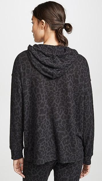 LNA Brushed Leopard Hoodie