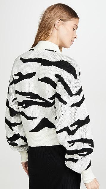 LNA Boxy Cardigan Sweater