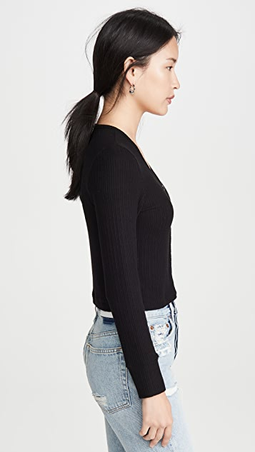 LNA Lana 开襟羊毛衫