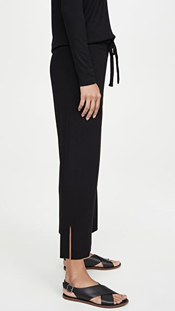 LNA Kismet Ribbed Knit Pants