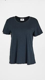LNA 做旧圆领 T 恤