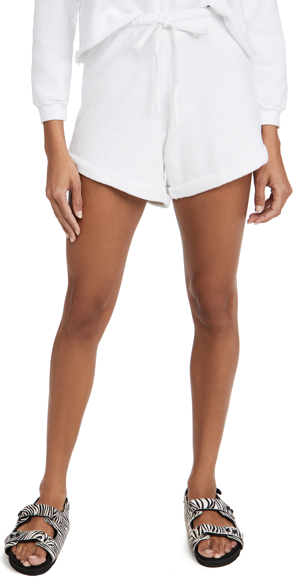 Rolled Terry Shorts