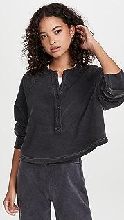 LNA Henley Sweatshirt