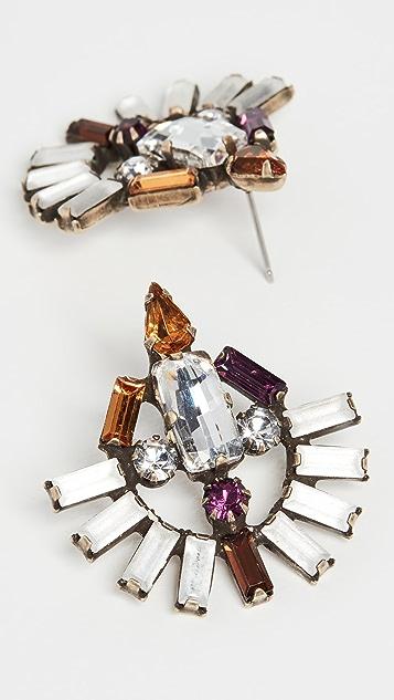 Lionette by Noa Sade Крупные серьги-гвоздики Colette
