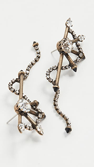 Lionette by Noa Sade Miss DJ Wheel Earrings