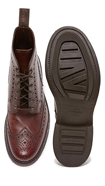 Loake 1880 Bedale Heavy Brogue Boots