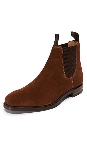 fab980589a0 Loake 1880 Chatsworth Suede Chelsea Boots | EAST DANE