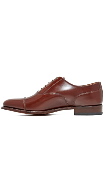 Loake L1 Polished Cap Toe Oxfords