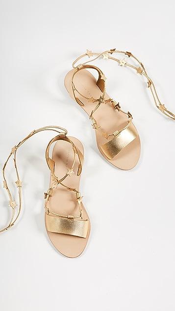 Loeffler Randall Starla Flat Sandals