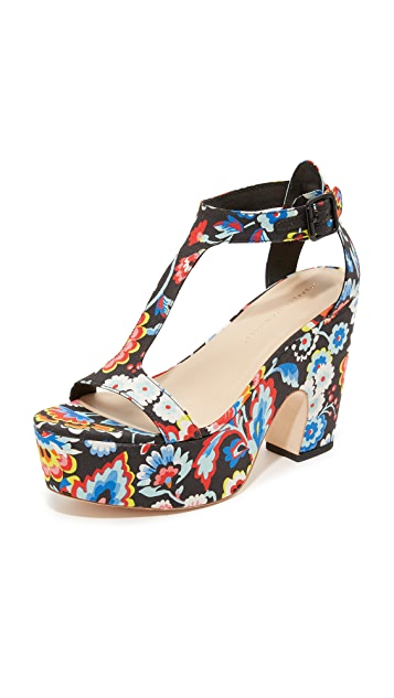 Loeffler Randall Minette Platform Sandals