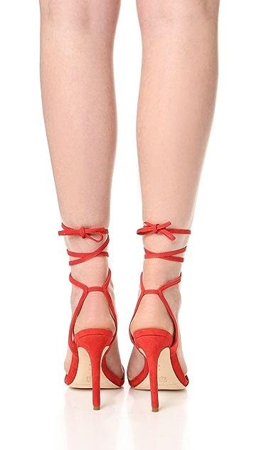Loeffler Randall Ellie Ankle Tie Sandals