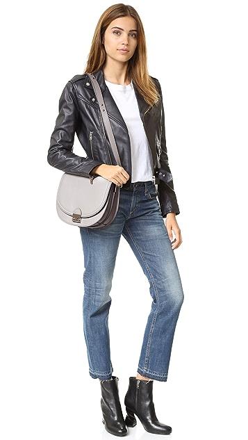 Loeffler Randall Large Saddle Bag