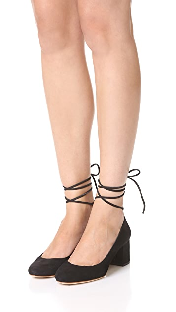 Loeffler Randall Clara Ankle Wrap Pumps