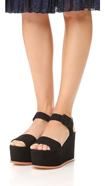Loeffler Randall Alessa Flatform Sandals