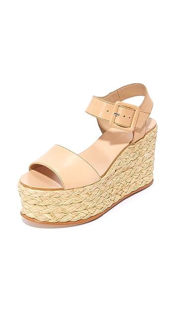 5f1d99cd552 Loeffler Randall Alessa Flatform Sandals