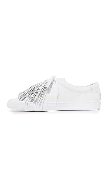 Loeffler Randall Logan Tassel Sneakers