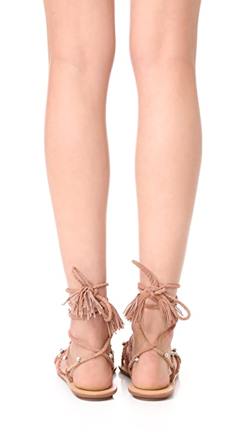 Loeffler Randall Bo Wrap Sandals