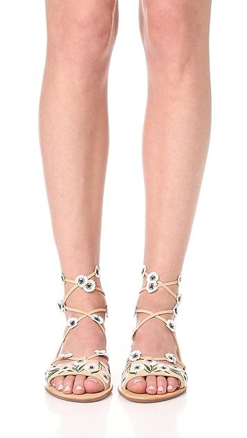 Loeffler Randall Fluera Wrap Sandals
