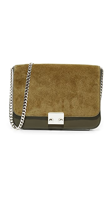 Loeffler Randall Lock Shoulder Bag