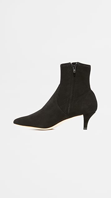 Loeffler Randall Kassidy Stretch Low Heel Booties