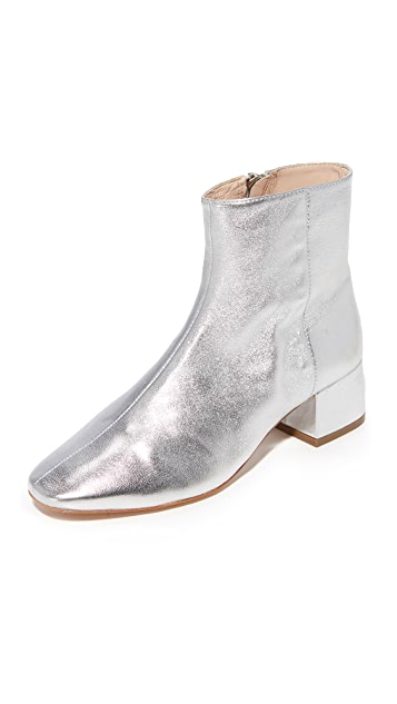 Loeffler Randall Carter Low Heel Ankle Booties