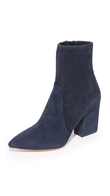 Loeffler Randall Isla Stretch Pointed Toe Booties
