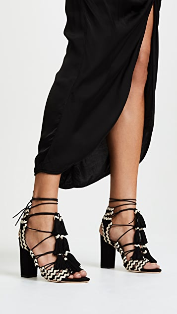 Loeffler Randall Luz Tassel Sandals; Loeffler Randall Luz Tassel Sandals ...
