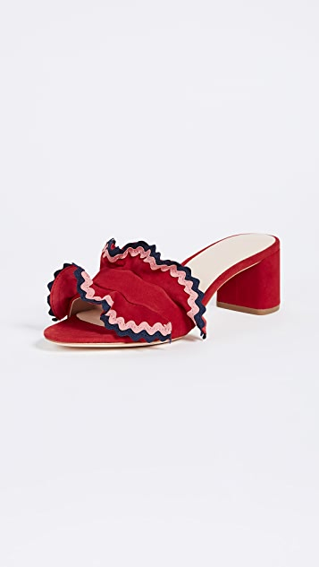 Loeffler Randall Vera City Slide Sandals