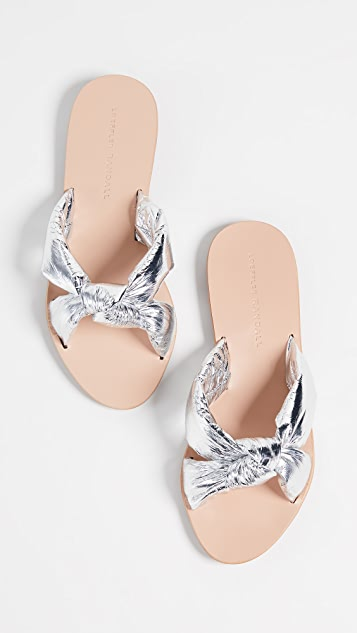 Loeffler Randall Iris Knotted Slides