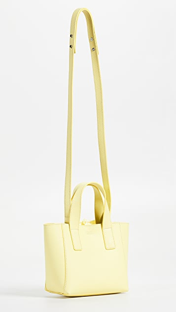 Loeffler Randall Mini Ribbon Shopper Tote