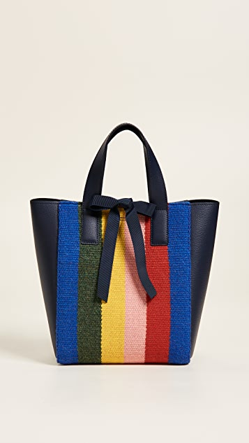 Loeffler Randall Ribbon Shopper Tote - Eclipse/Multi
