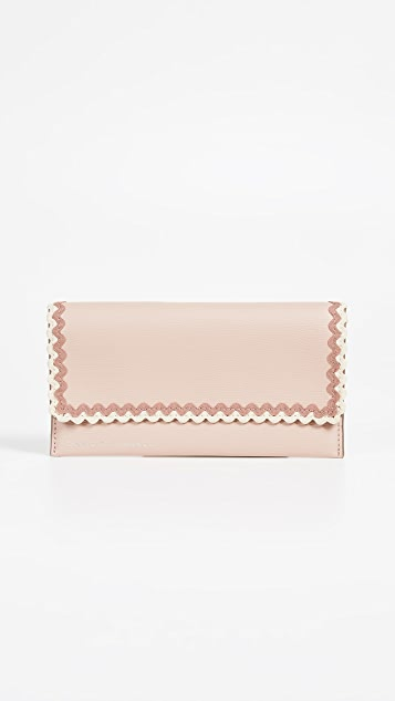 Loeffler Randall Everything Continental Wallet