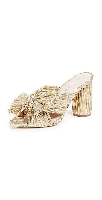 Loeffler Randall Penny Knot Slides - Gold