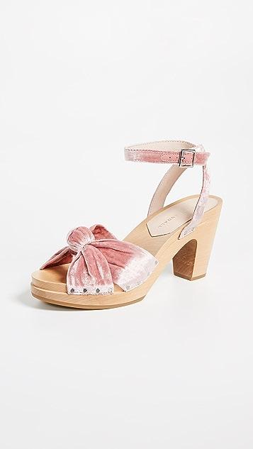 Loeffler Randall Una Knot Clog Sandals