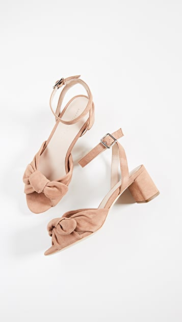 Loeffler Randall Jill Knotted Block Sandals