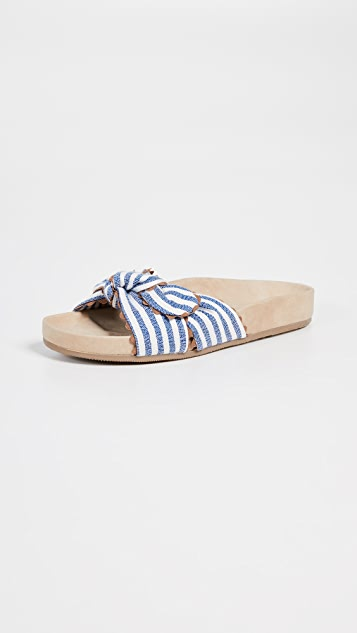Loeffler Randall Beattie Knotted Pool Slides