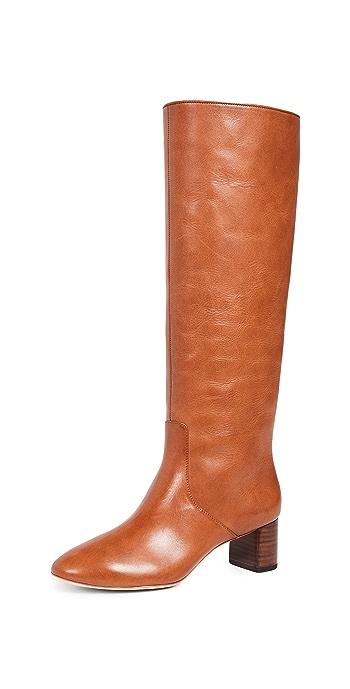 Loeffler Randall Gia Tall Boots - Cognac