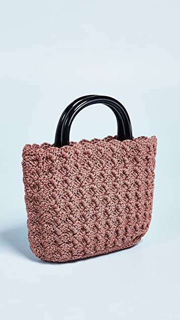 Loeffler Randall Audrey Crochet Tote Bag