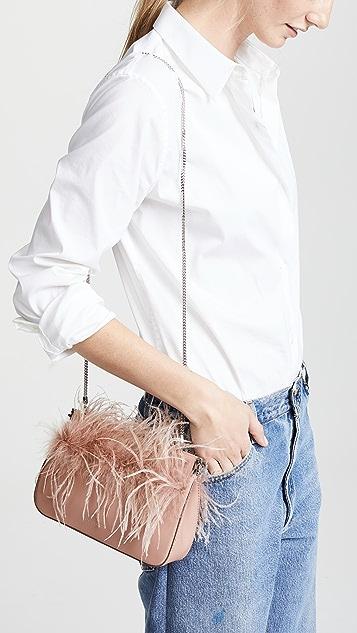 Loeffler Randall Maisie 羽毛铰链小包