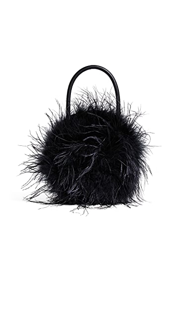 Loeffler Randall Zadie Feather Circle Tote